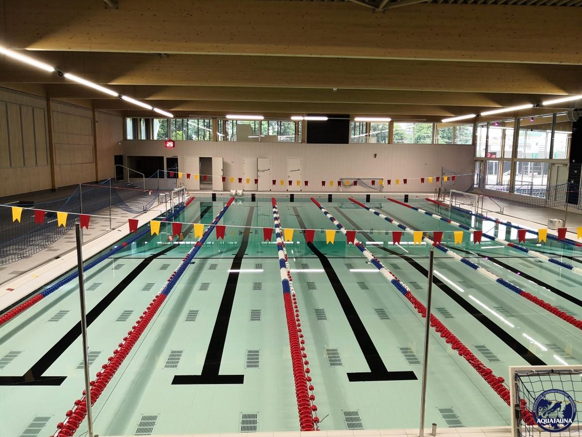 Binnenbad nieuwe zwembad opgeleverd
