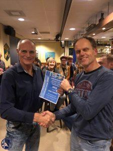 Uitreiking prijs leukste les van 2018