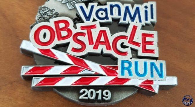Aquafauna bikkels doen mee aan Obstacle run
